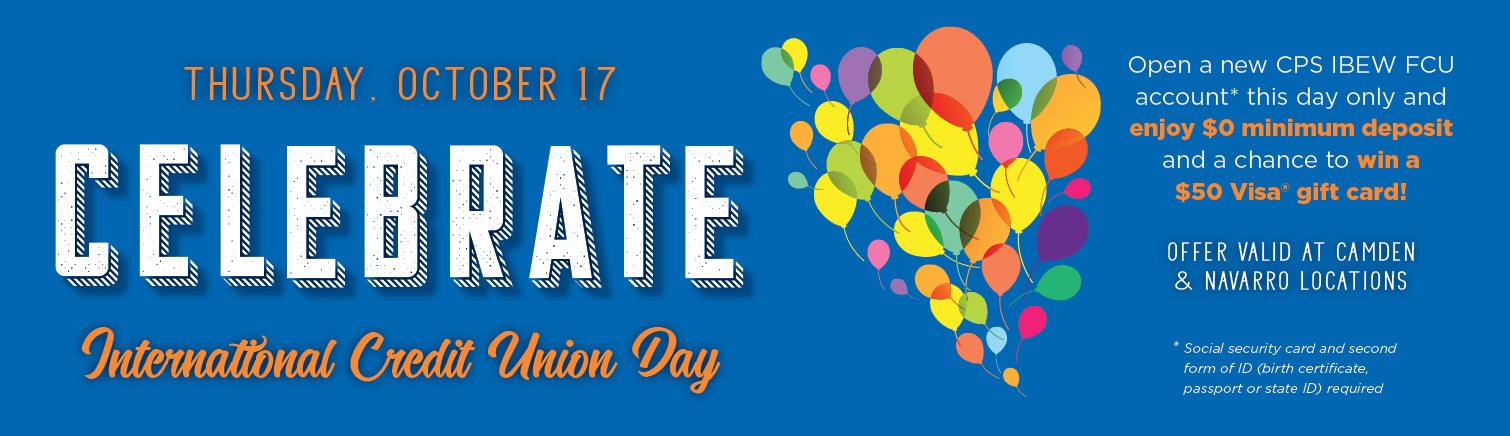 International Credit Union Day October 17