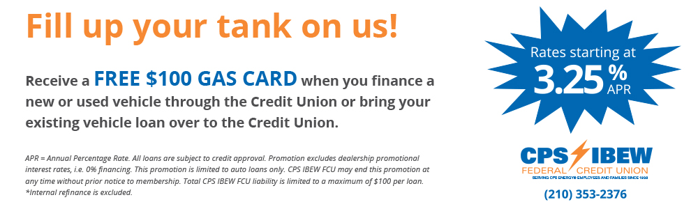 Federal Credit Union San Antonio | IBEW Credit Union | CPS Credit Union | starbucks giftcard